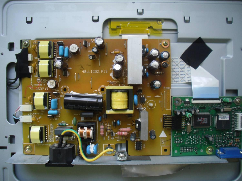 Как разобрать монитор benq g700